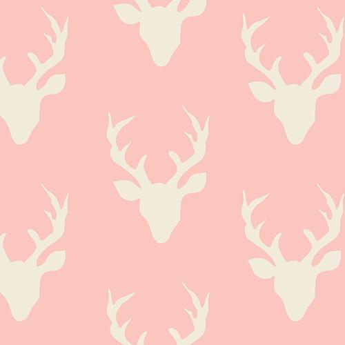 Art Gallery Buck Forest in Pink