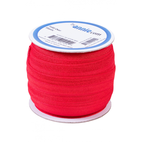 By Annie Fold-over Elastic in Atom Red