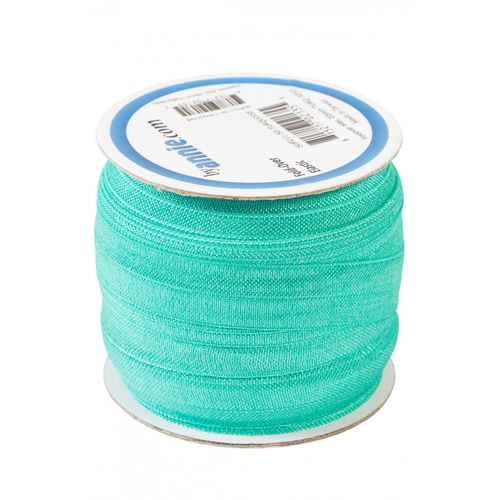 By Annie Fold-over Elastic in Turquoise