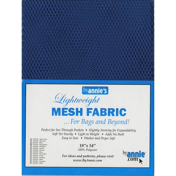 By Annie Lightweight Mesh in Blastoff Blue