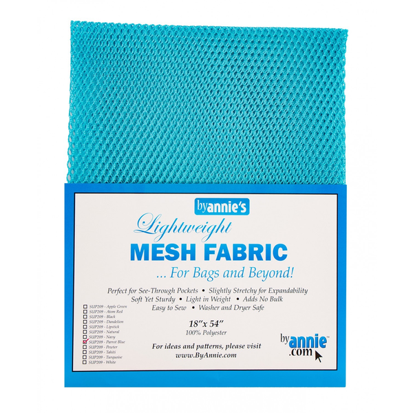 By Annie Lightweight Mesh in Parrot Blue