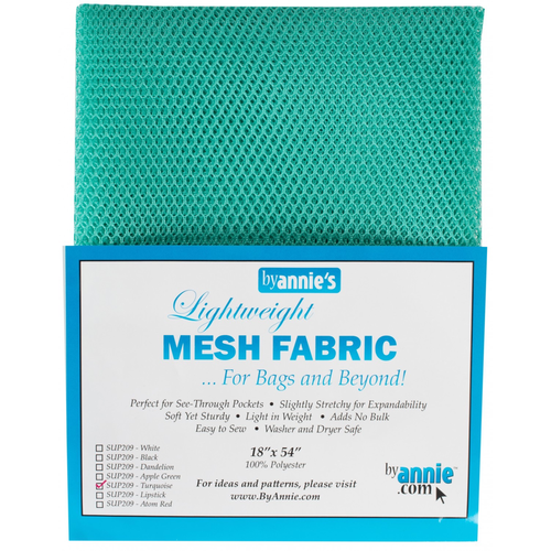 By Annie Lightweight Mesh in Turquoise