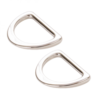 "By Annie D Ring Flat 1"" Nickel 2ct"