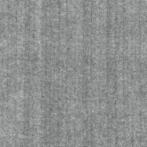 Robert Kaufman Shetland Flannel Herringbone in Grey