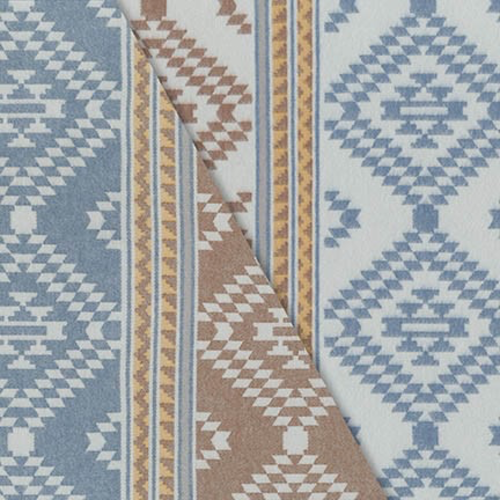 Robert Kaufman Taos Flannel in Blue
