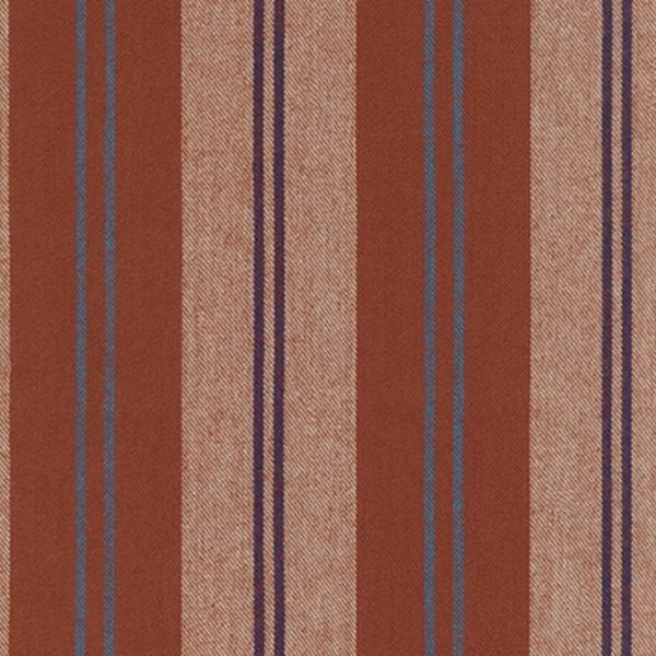 Robert Kaufman Taos Flannel Stripe in Rust