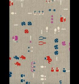 Cotton + Steel Lucky in Neutral Linen Canvas