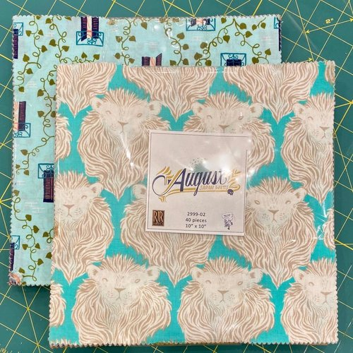 "Cotton + Steel SALE Cotton + Steel Multipack: 10"" Squares x 40 pc : Homebody by Kim Kight & August by Sarah Watts"