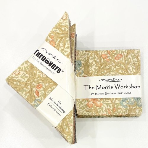 SALE The Morris Workshop Pre-Cut Pack: 2 charm packs, 4 Turnovers