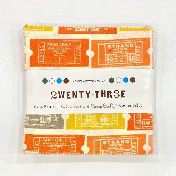 2wenty Thr3e Charm Pack