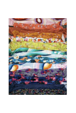 Ruby Star Society Daydream in Sunset Rayon