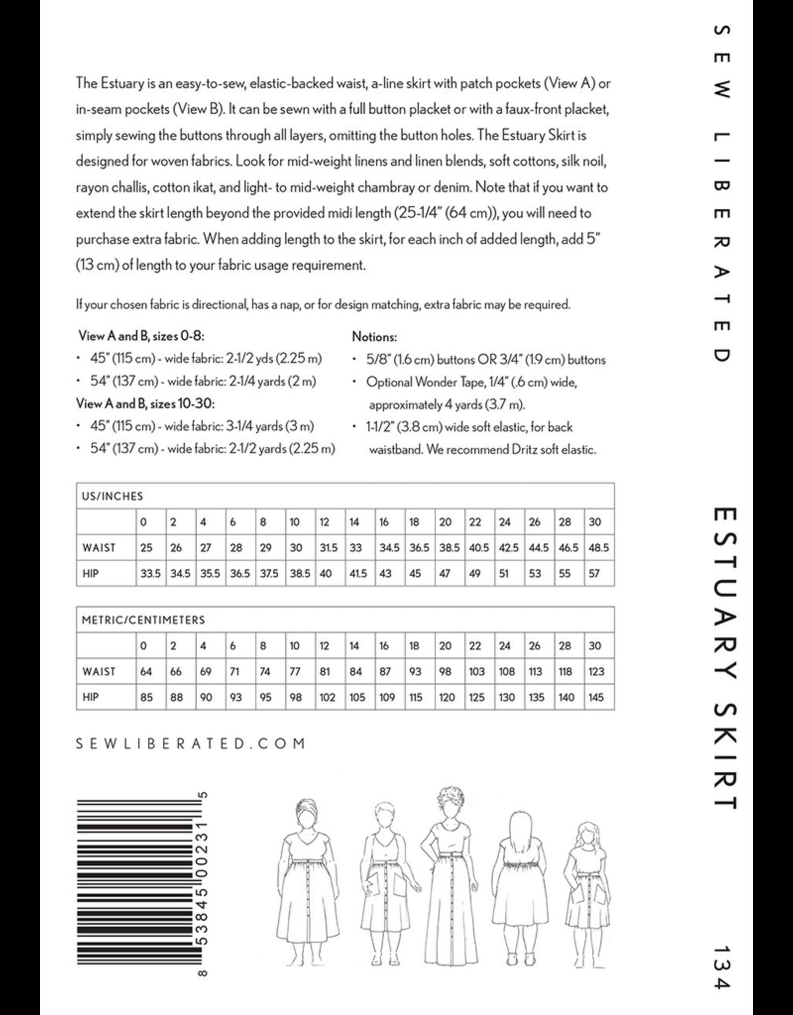Sew Liberated Estuary Skirt Pattern
