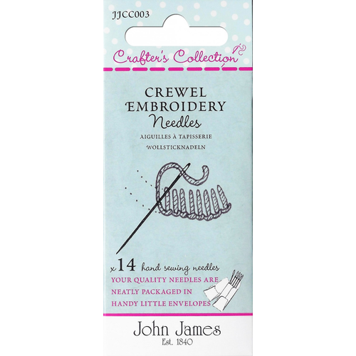 John James Crewel Embroidery Needles Assortement