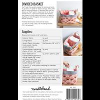 Noodlehead Divided Basket Pattern