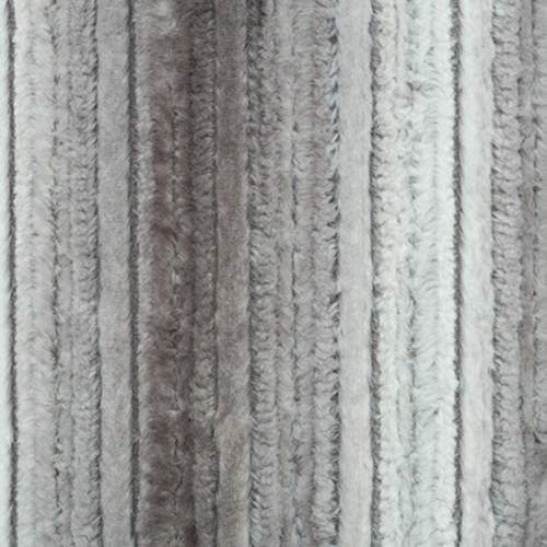 Shannon Fabrics Luxe Cuddle Raya in Platinum/Silver