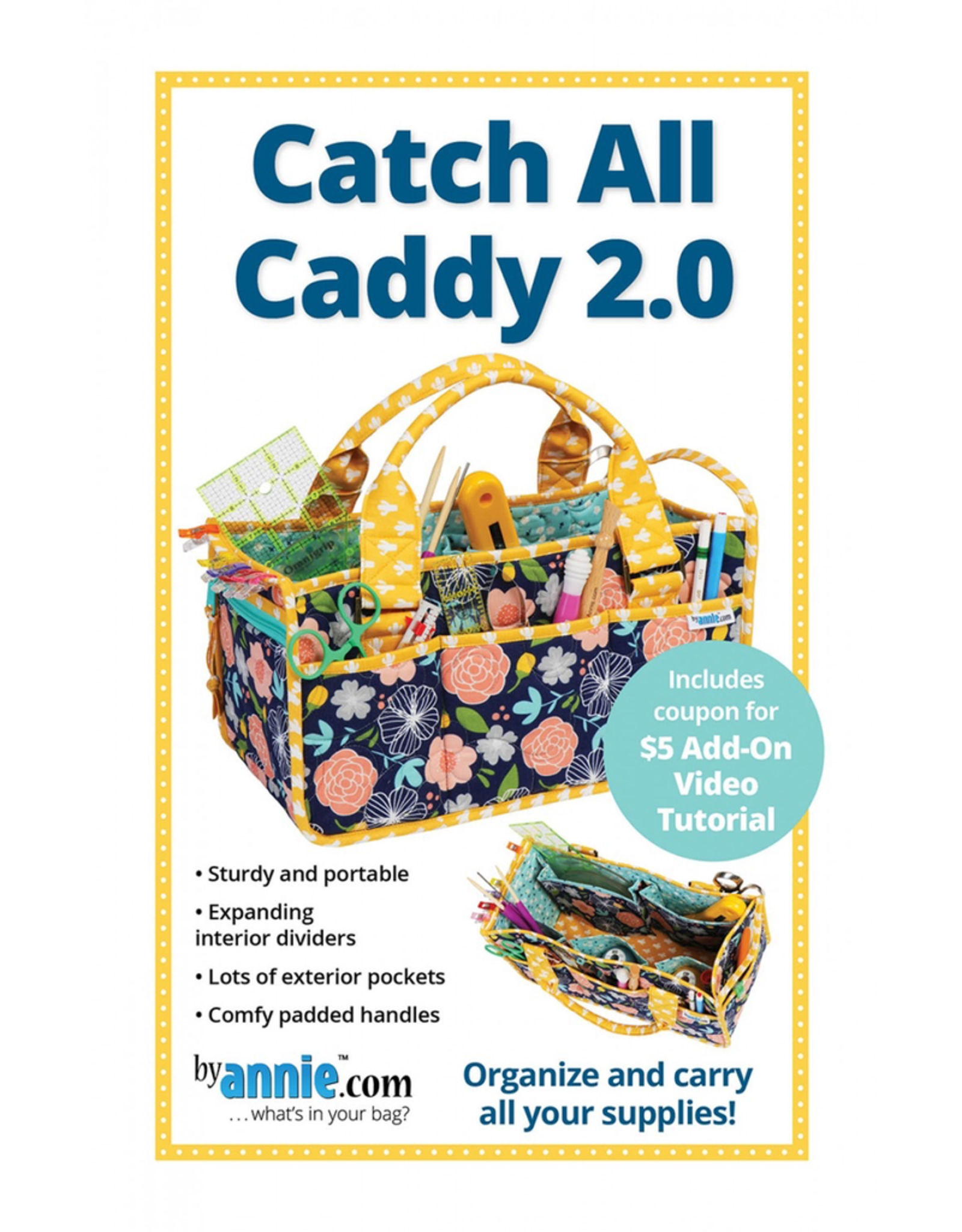 By Annie Catch All Caddy 2.0 Pattern