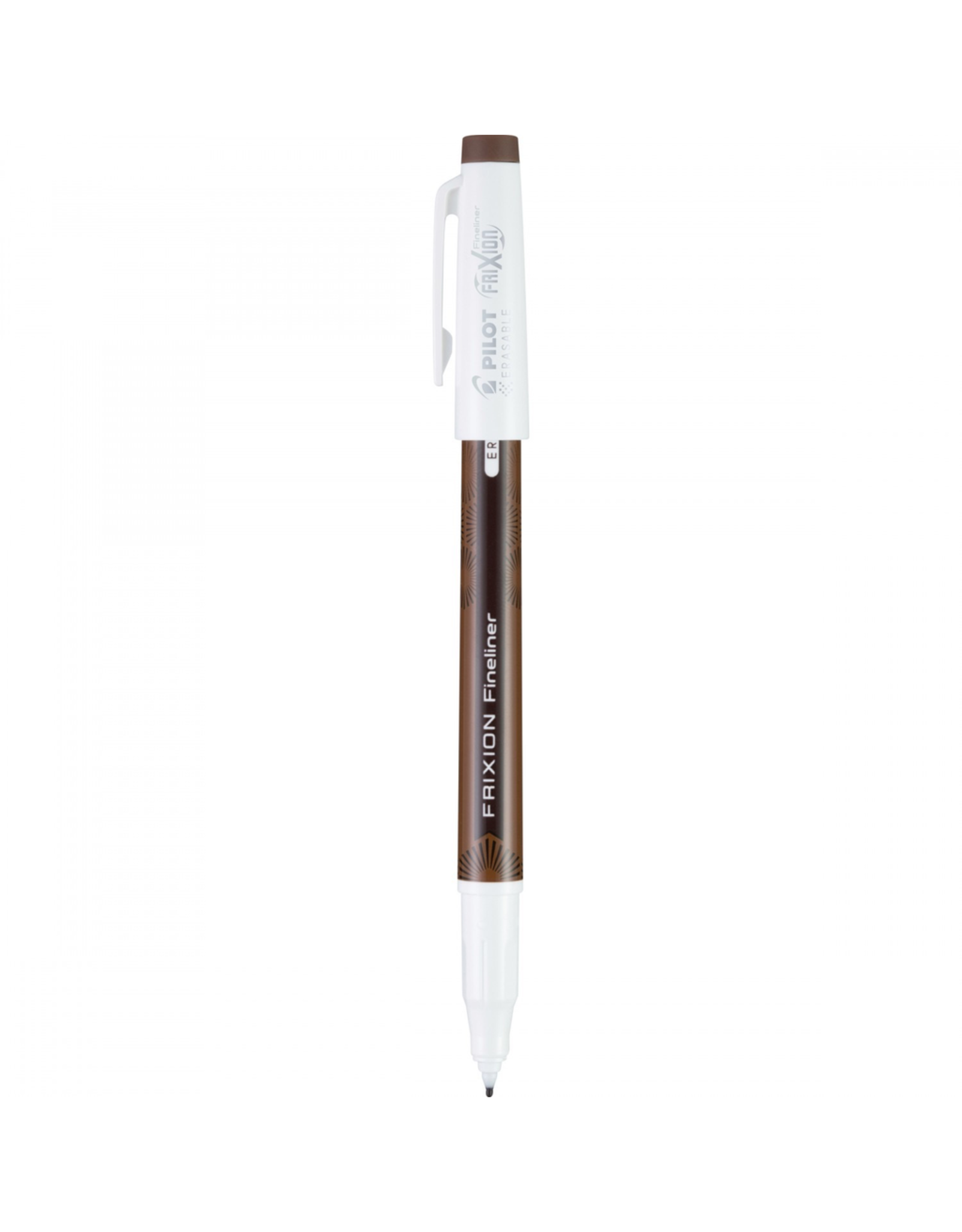 Frixion Fineliner Erasable Pen in Brown