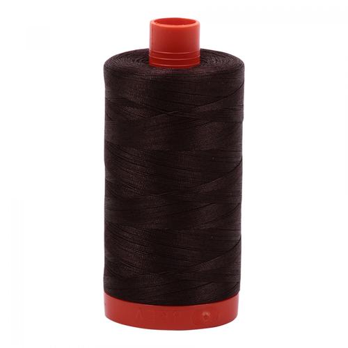 Aurifil Aurifil Mako Cotton Thread in Dark Brown