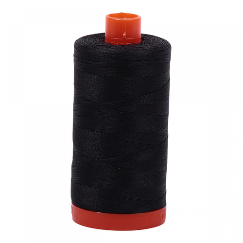 Aurifil Aurifil Mako Cotton Thread in Very Dark Grey 4241