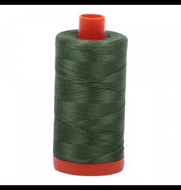 Aurifil Aurifil Mako Cotton Thread in Dark Grass Green 2890