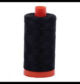 Aurifil Aurifil Mako Cotton Thread in Black 2692