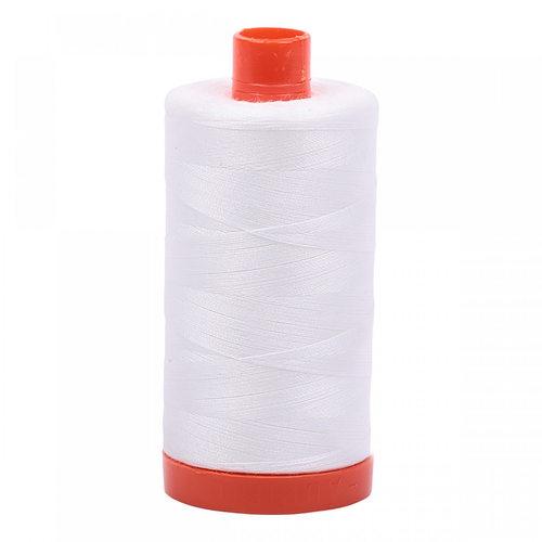 Aurifil Aurifil Mako Cotton Thread in Natural White 2021