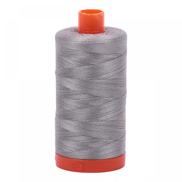 Aurifil Aurifil Mako Cotton Thread in Stainless Steel 2620