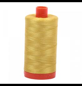 Aurifil Aurifil Mako Cotton Thread in Gold Yellow 5015