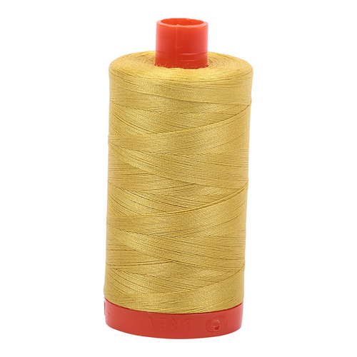 Aurifil Aurifil Mako Cotton Thread in Gold Yellow 5015