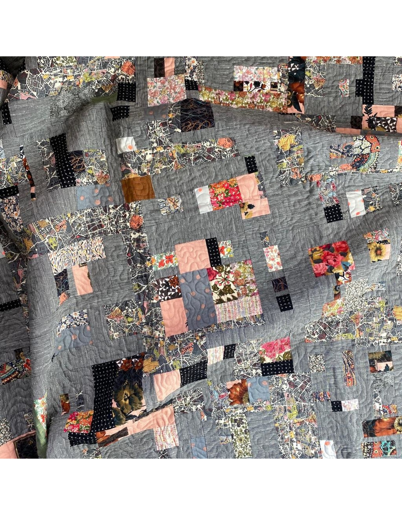 Intuitive Piecing: Bits & Strips Class
