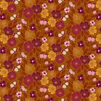 Figo Flowers in Ochre Multi
