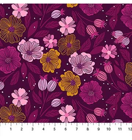 Figo Flowers in Purple Multi