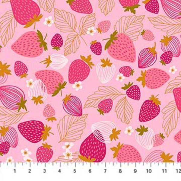 Figo Strawberries in Pink Multi