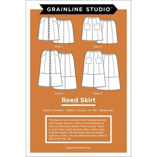Reed Skirt Pattern Sz 14-30