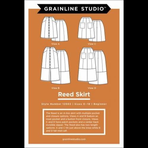 Reed Skirt Pattern Sz 0-18