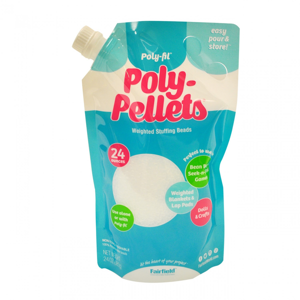 Poly Pellets Weighted Stuffing Beads 24 oz