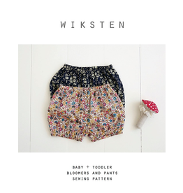 Wiksten Baby + Toddler Bloomers and Pants Pattern
