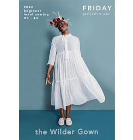 Friday Pattern Co The Wilder Gown Pattern