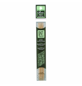 Bamboo Double Point Knitting Needles Size 3/3.25mm