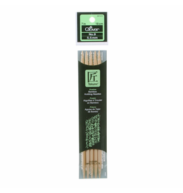 Bamboo Double Point Knitting Needles Size 9/5.5mm