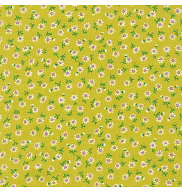 Robert Kaufman Petite Daisy in Lime