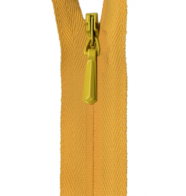 "YKK Unique Invisible Zipper 22"" Buttercup"