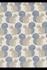 Cotton + Steel Squirrles in Neutral