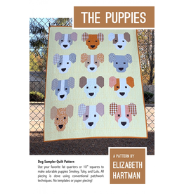 Elizabeth Hartman The Puppies Quilt Pattern