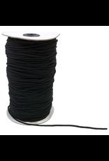 Moda Elastic Cording in Black