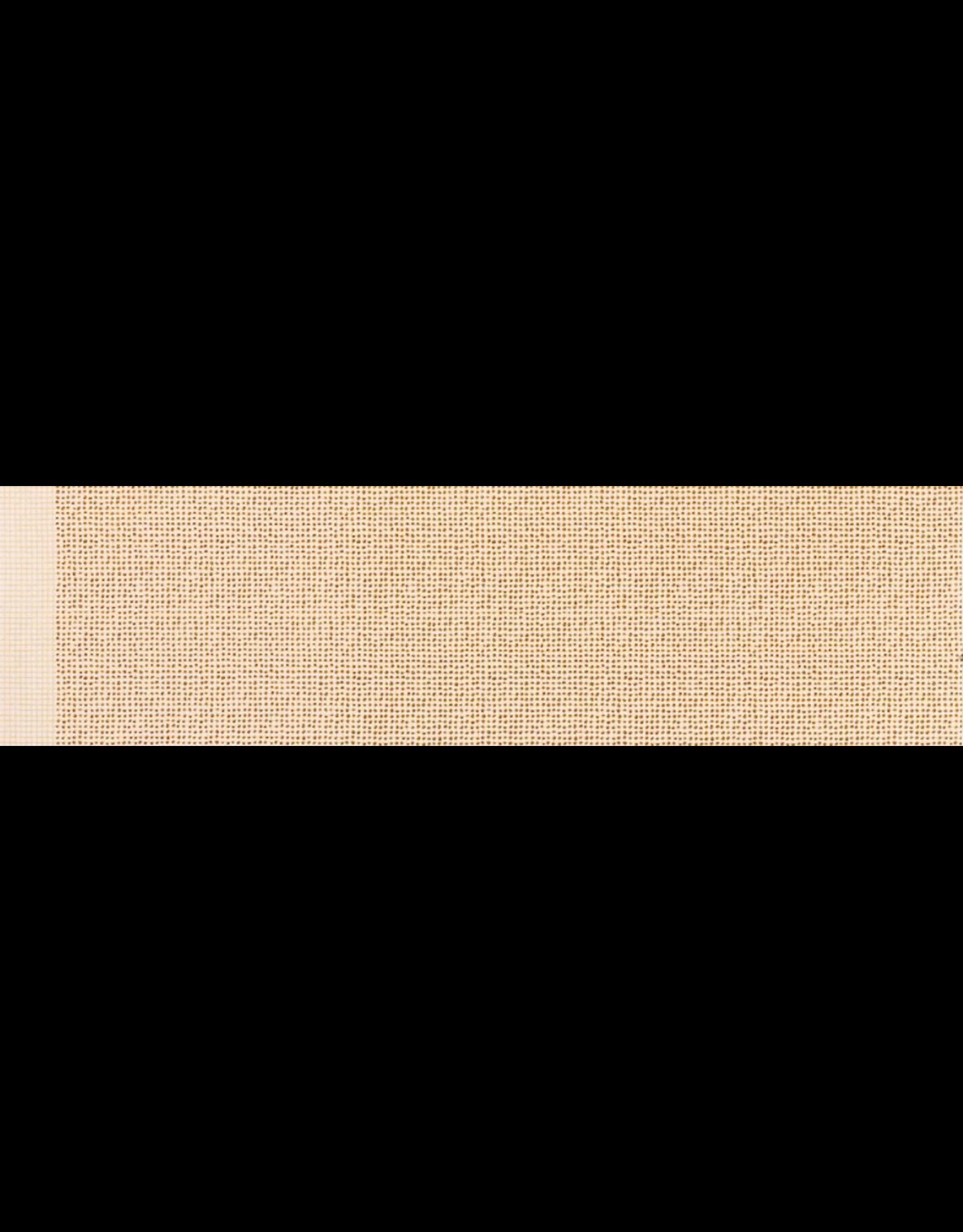 Robert Kaufman Grid in Spice w/ Gold Metallic