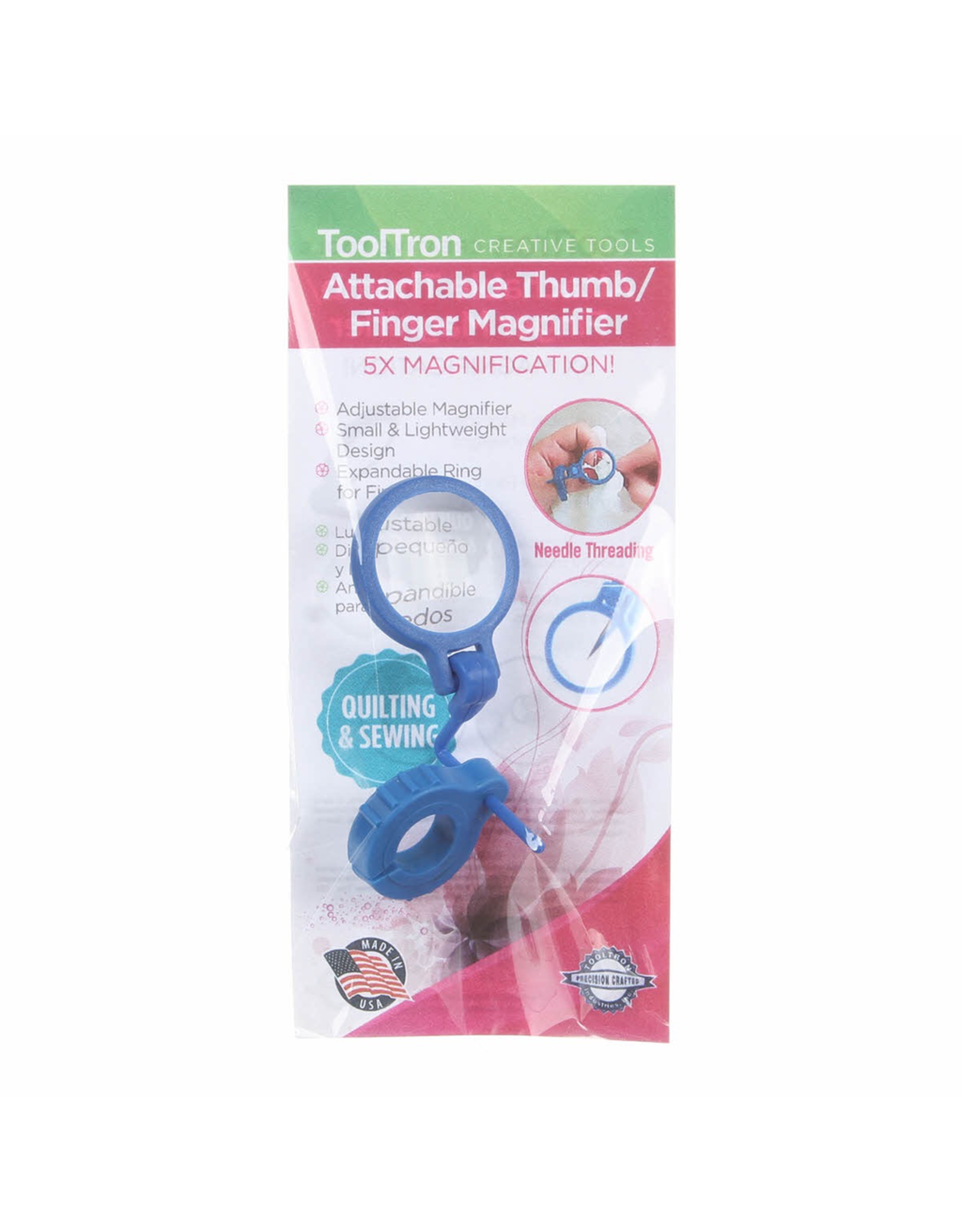 Tooltron Attachable Thumb/Finger Magnifier