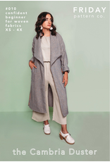 Friday Pattern Co The Cambria Duster Pattern