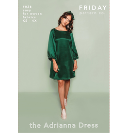 Friday Pattern Co The Adrianna Dress Pattern