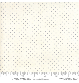 Moda Dots in Grey on Off-White